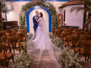 O casamento de Carol e Anderson