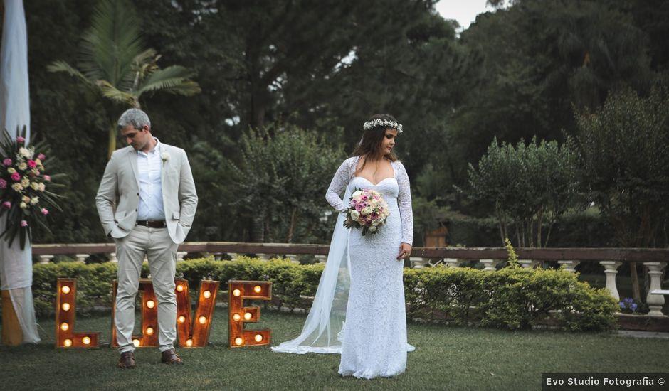 O casamento de Felipe e Glaucia em São Roque, São Paulo