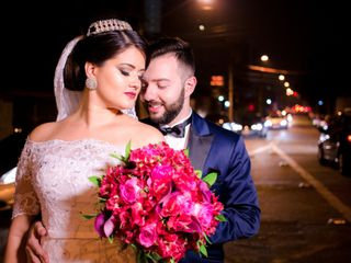 O casamento de Juliany e Wagner