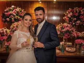 O casamento de Cris  e André