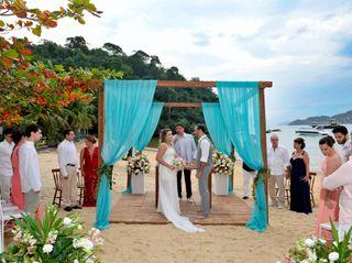 O casamento de Eduarda e Fabio