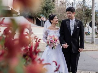 O casamento de Viviane e Eduardo