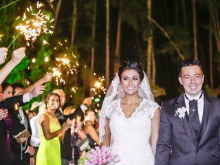 O casamento de Denise e Andre