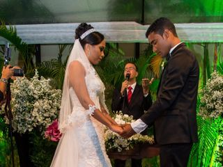 O casamento de Lorene e Orleon