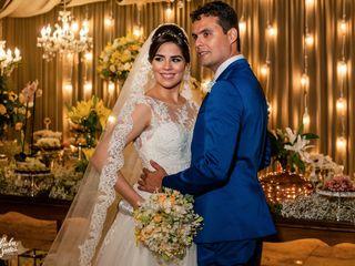 O casamento de Camila e Marlan