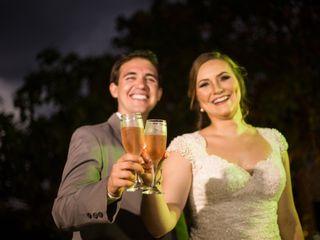 O casamento de Viviane e Leandro