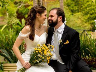 O casamento de Alisa e Silas