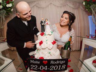 O casamento de Maite e Rodrigo