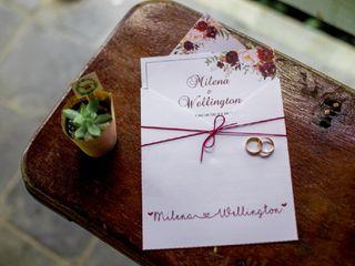 O casamento de Milena e Wellington 3