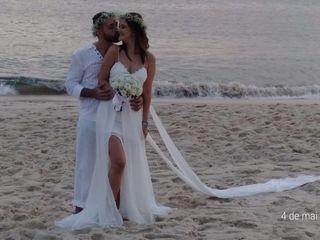 O casamento de Fabio e Daphne