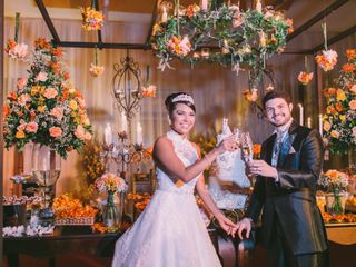 O casamento de Fabricia e Alan