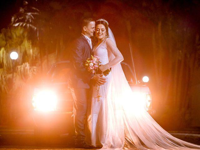 O casamento de Tainara e Gesbrian