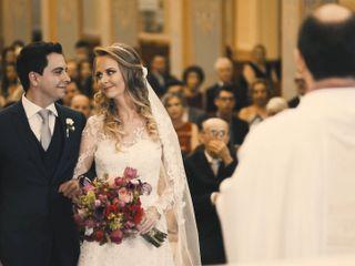 O casamento de Alice e Claudinei