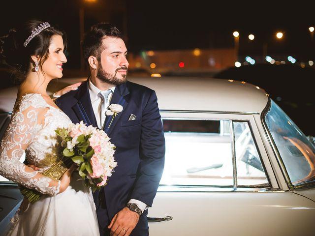 O casamento de Lorenza e Wander