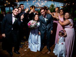 O casamento de Louise e Cairo