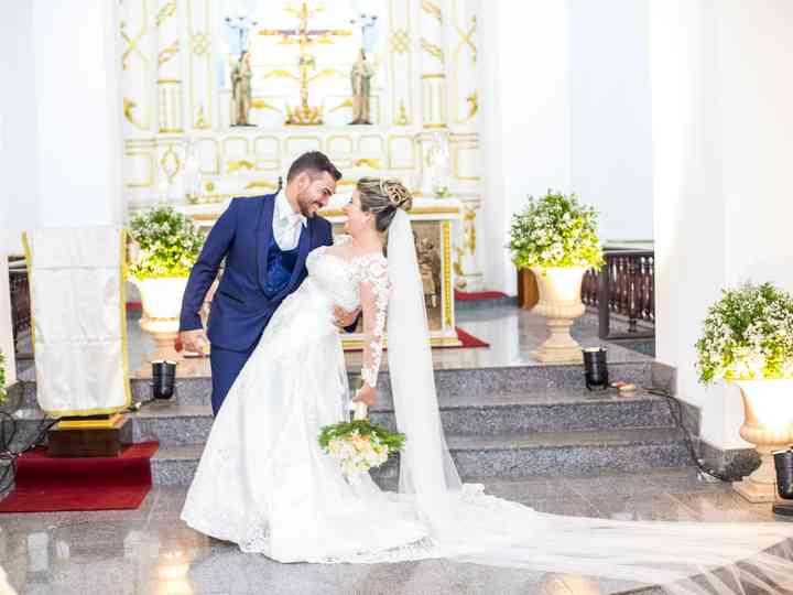 O casamento de Alessandra e Airton