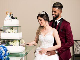 O casamento de Alessandra e Guilherme