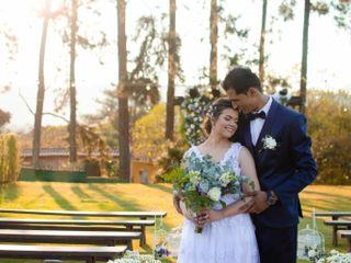 O casamento de Lais  e Magno