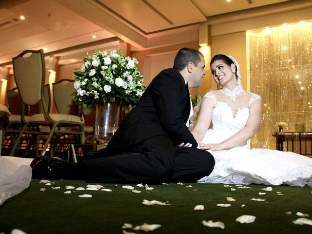 O casamento de Viviane e Luigi