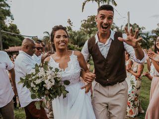 O casamento de Nana e Gabriel