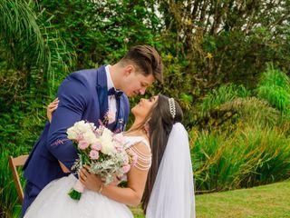 O casamento de Pamela e Douglas