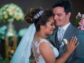 O casamento de Simone e Wallace