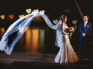 O casamento de Gisele e Cristiano