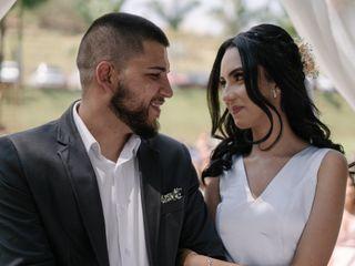 O casamento de Karina   e Cristian Régis