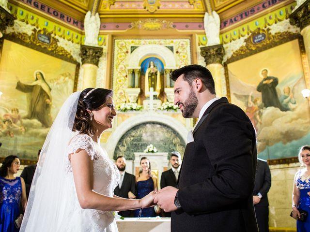 O casamento de Franciele e Gabriel