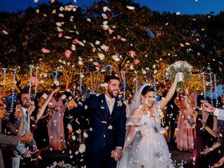 O casamento de Millena e Alexandre