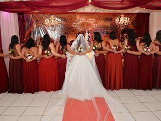 O casamento de Claudia e Fred