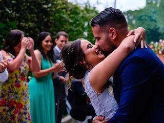 O casamento de Rodrigo e Ágata