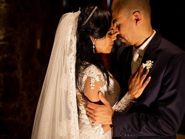 O casamento de Rose e Adriano