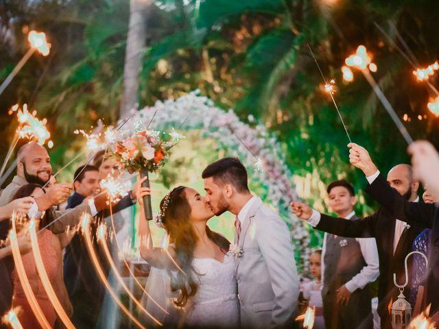 O casamento de Marjory e Neto