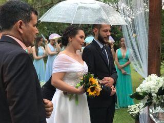 O casamento de Laura e Raphael