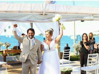 O casamento de Aline e Gentil Jr.