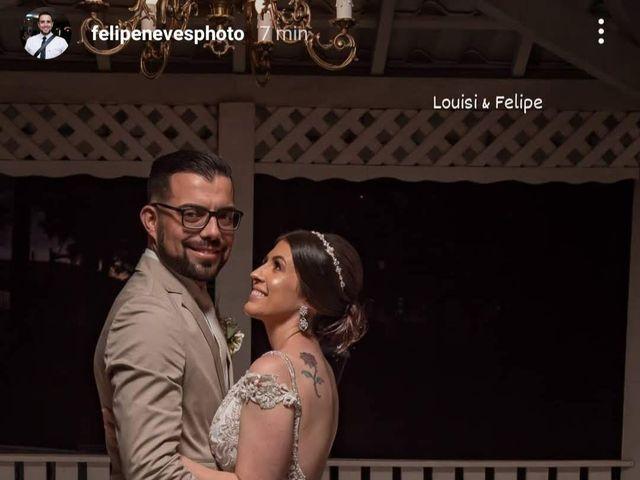 O casamento de Louisi Felix e Felipe Felix em São José dos Pinhais, Paraná 4