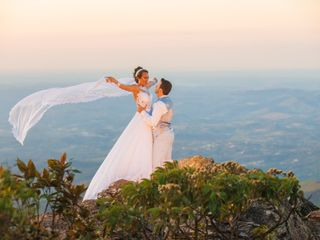 O casamento de Isabel e Rafael