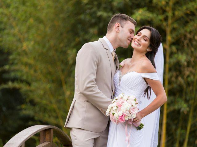 O casamento de Melina e Michael