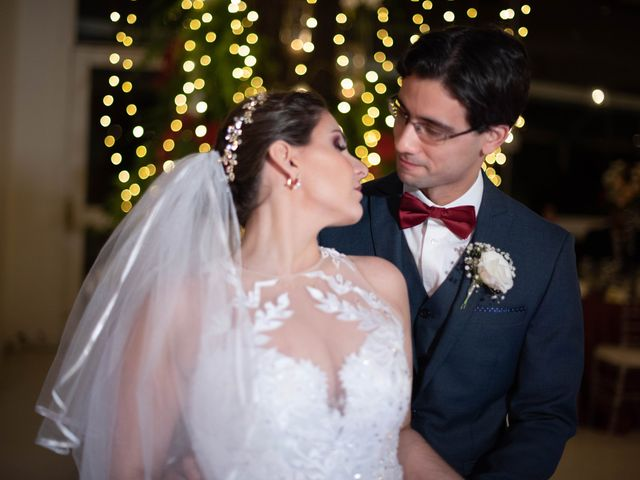 O casamento de Monique e Alvaro