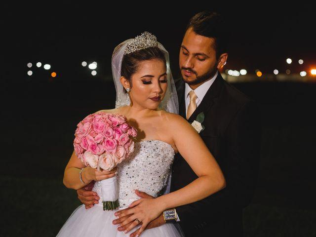 O casamento de Luana e Reilly