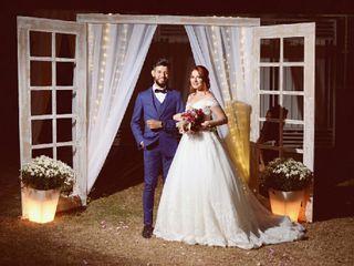 O casamento de Caroline e Apolo