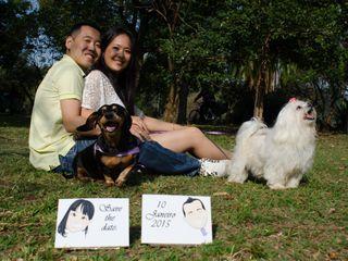 O casamento de Tatiane e Kimio 1