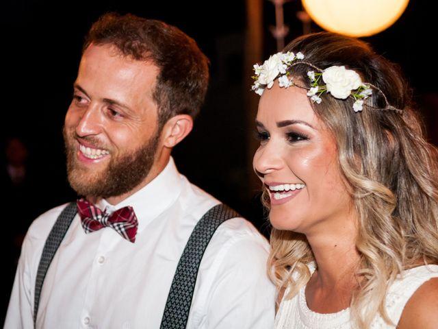O casamento de Catherine e Bruno