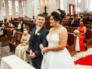 O casamento de Thais e Jean