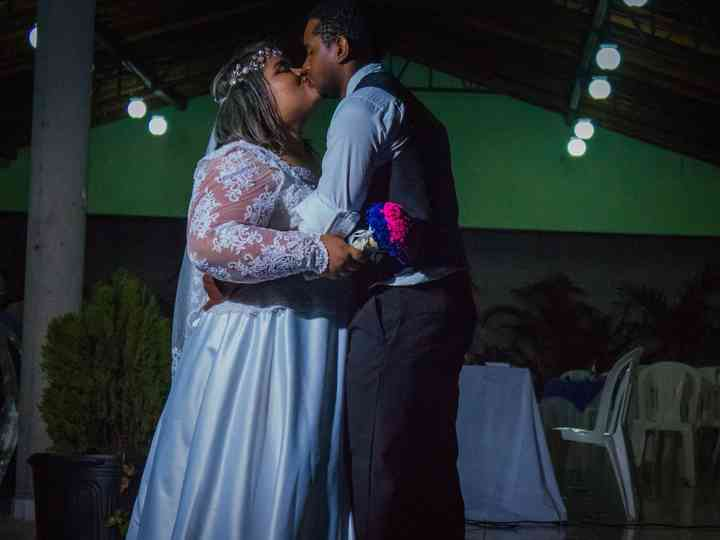 O casamento de Letícia e Abmael