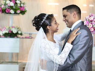 O casamento de Patrícia  e Nemias