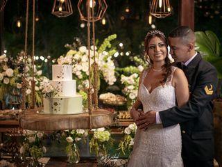 O casamento de Daiana e Silas