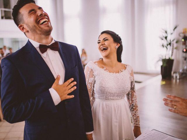 O casamento de Milena e Dauber