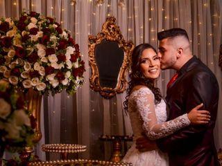 O casamento de Andreza  e Nicholas